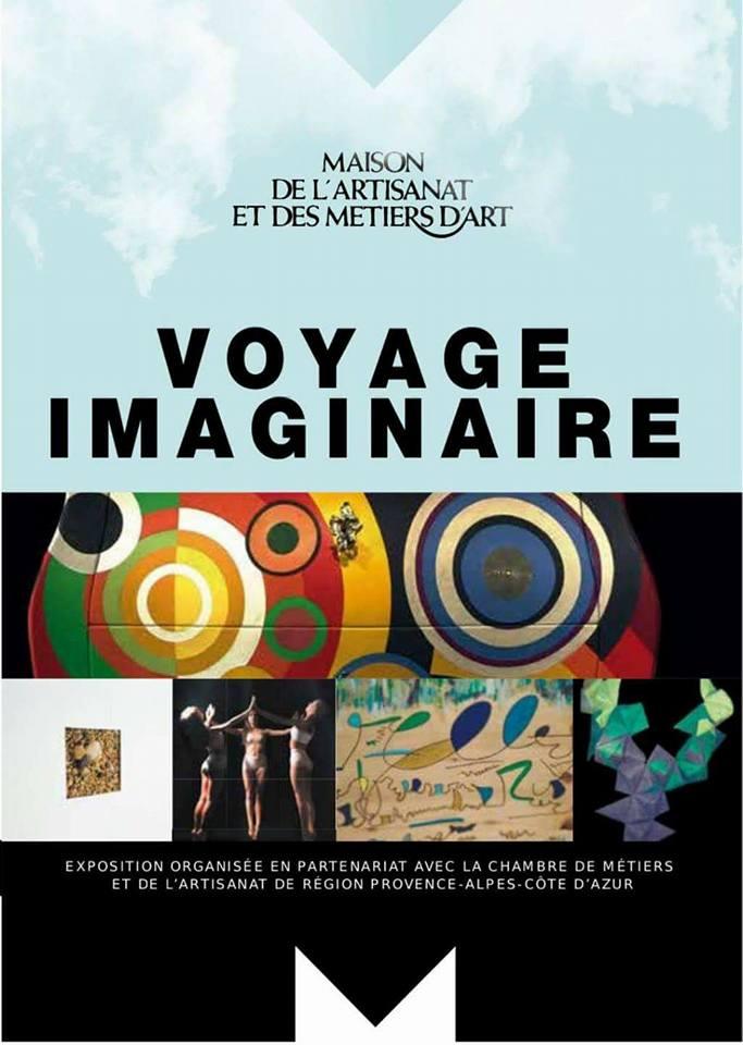 Venez découvrir mes créations à 'L'exposition : Le Voyage Imaginaire
