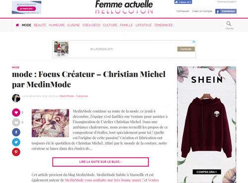 Article Hello coton