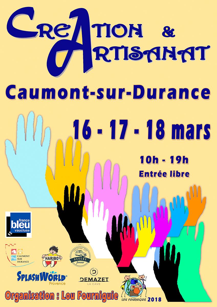 Salon Art &Artisanat – Caumont sur Durance (84) 16-18 mars 2018