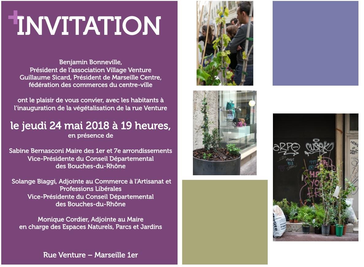 Inauguration Rue Venture