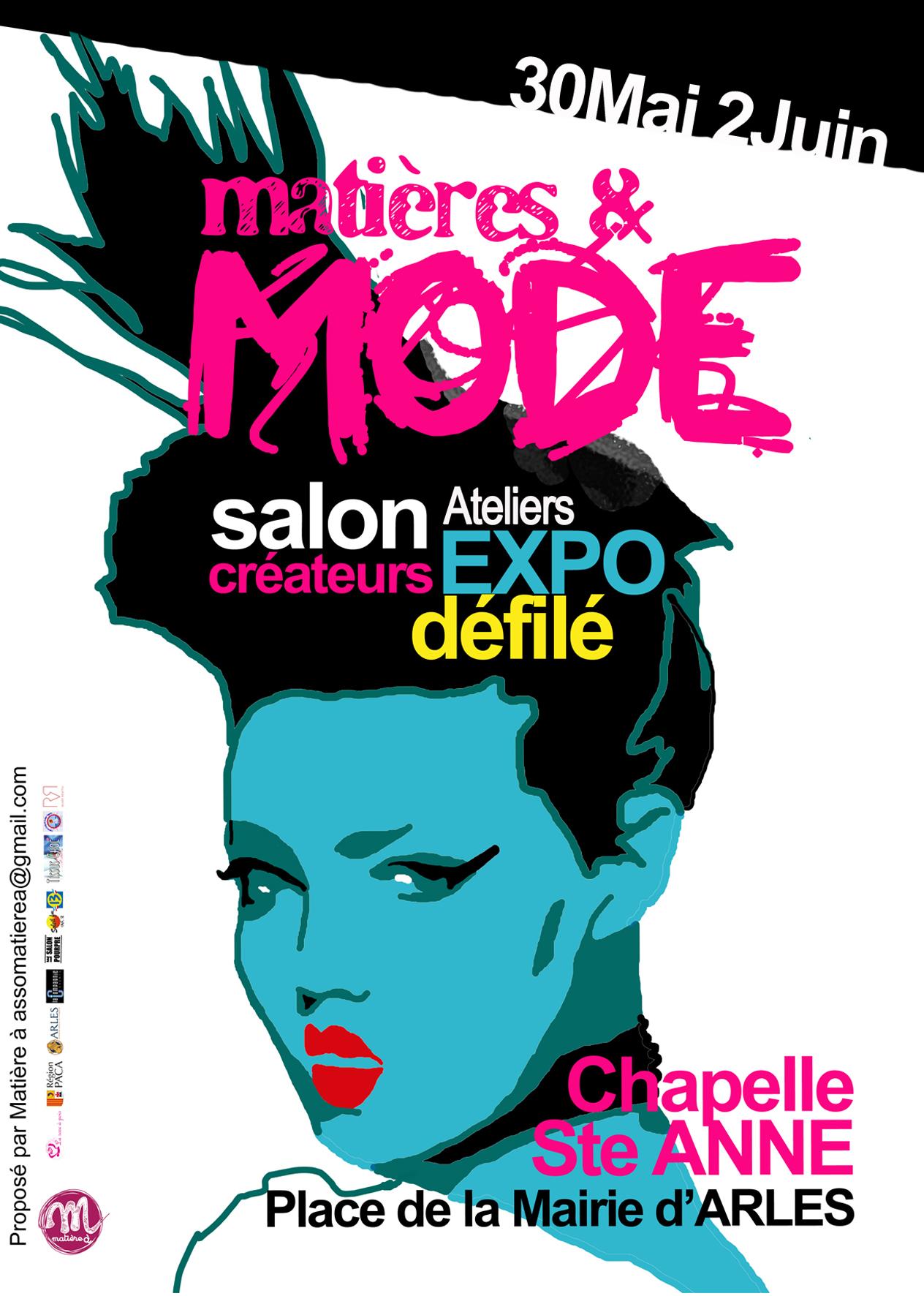 Matières et Mode 2019, le salon des créateurs du Pays d'Arles