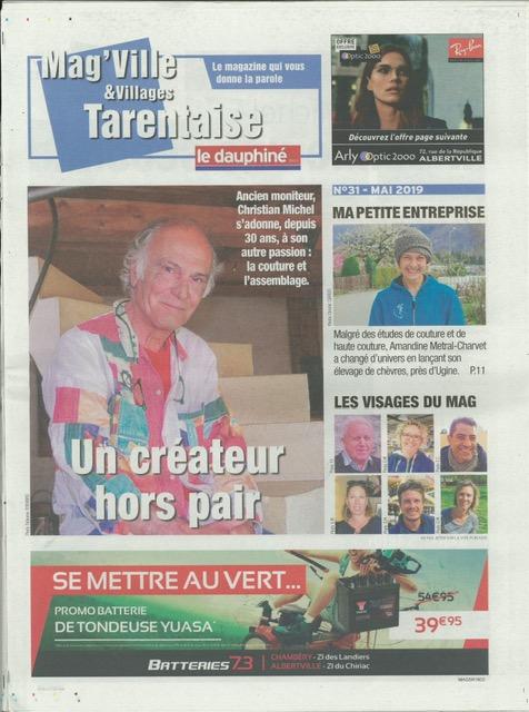Article dans le Mag Tarentaise